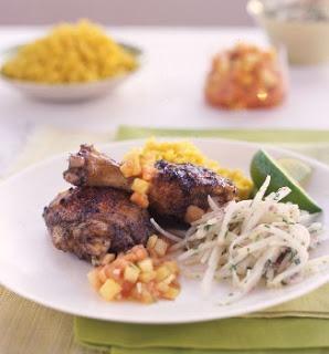 Grilled Jerk Chicken | Good Eats, Treats, and Drinks. | Pinterest