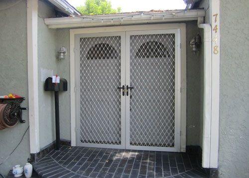 Double security doors home door ideas pinterest for Double security doors