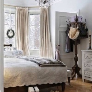 Curtains For Back Door Gray and Beige Color Combina