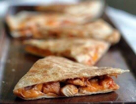 BBQ Chicken And Peach Quesadillas Recipes — Dishmaps