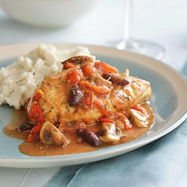 Quick Chicken Cacciatore | KitchenDaily.com