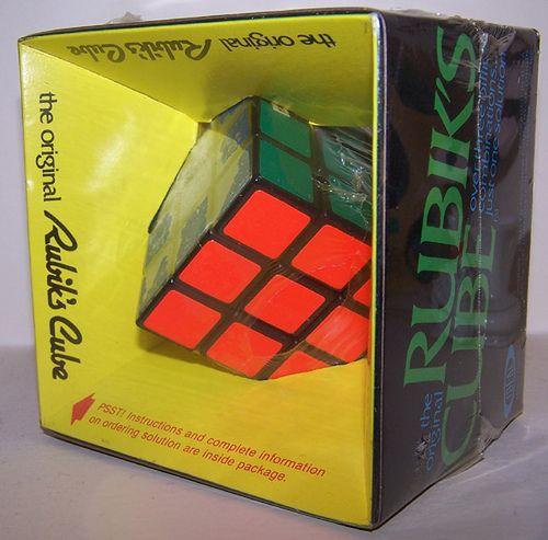 rubik 39 s cube original 70s and 80s good old days. Black Bedroom Furniture Sets. Home Design Ideas