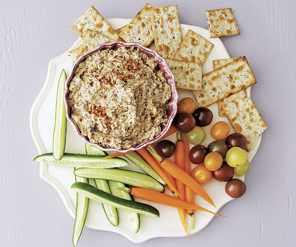 Lebanese Grilled Eggplant Dip. Serve this rich, smoky dip with pita ...
