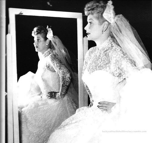 Love lucille ball 39 s wedding dress i love lucy pinterest for Lucille ball wedding dress