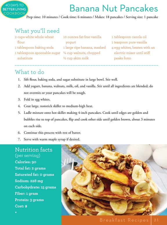 Banana Nut Pancakes | Tasty Comforts | Pinterest