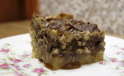 Maple Pecan Sticky Bars | Delectible Desserts | Pinterest