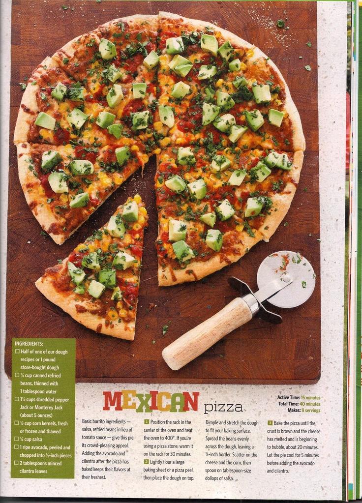 Mexican Pizza | Pizza & Flatbread | Pinterest