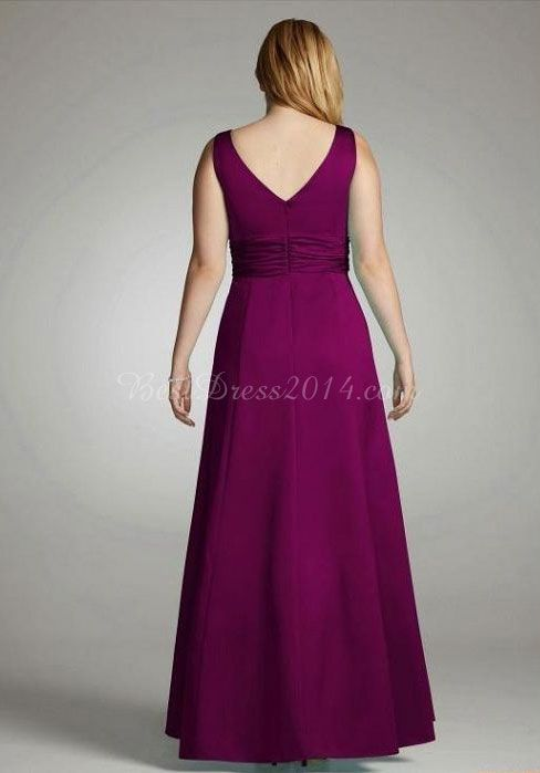 plus size dresses purple