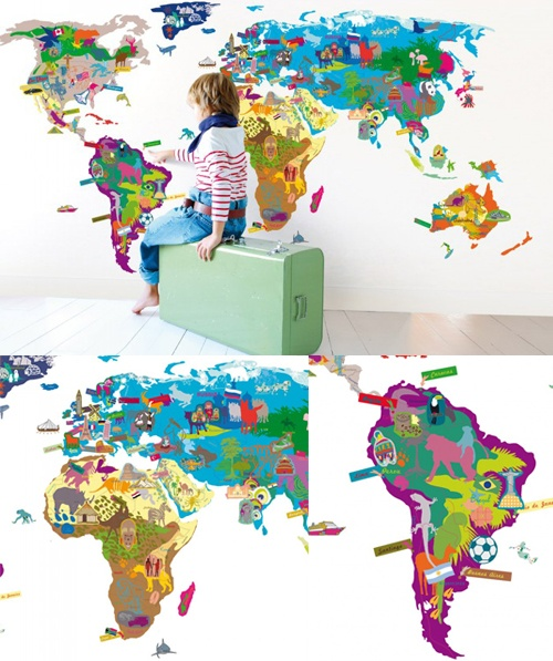 childrens map