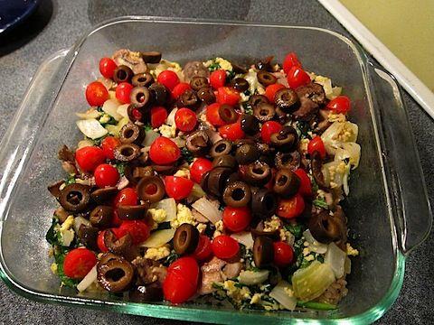 Easy Greek Casserole #glutenfree #casserole #sidedish