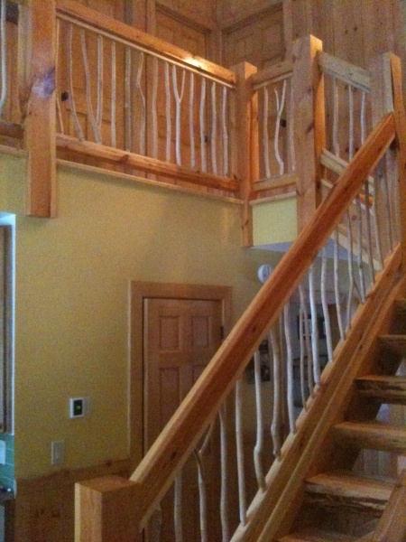 Best Reclaimed Wood Railing Improvements Pinterest 400 x 300