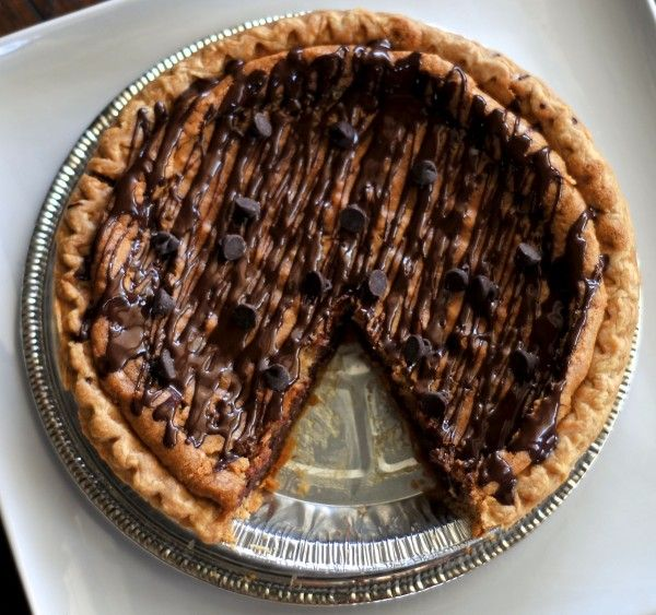 chocolate chip cookie pie 2 | Dessert | Pinterest