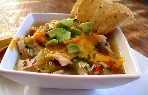 Mexican Chicken Lime Soup | ♥The Sombrero♥ | Pinterest