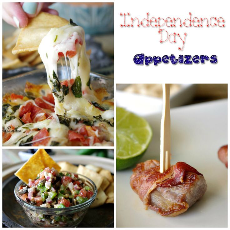 4th of july appetizers pinterest