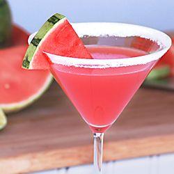 Fresh Watermelon Martini | Cuisine | Pinterest