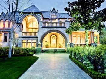 A Richardsonian Romanesque 1800s Era Style Mansion In