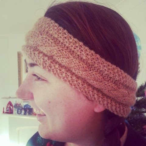 Knitting Pattern Ski Headband : FREE KNITTING PATTERN FOR SKI HEADBAND   KNITTING PATTERN