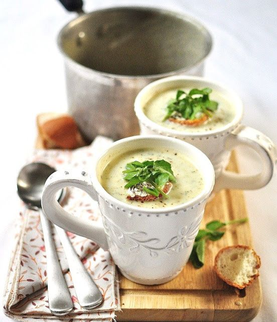 My Friend Greg and a Pear & Watercress Soup - Verses from my Kitchen