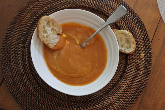 Spicy Sweet Potato Soup with Chipotle. | Delicious and Yummy (Group B ...
