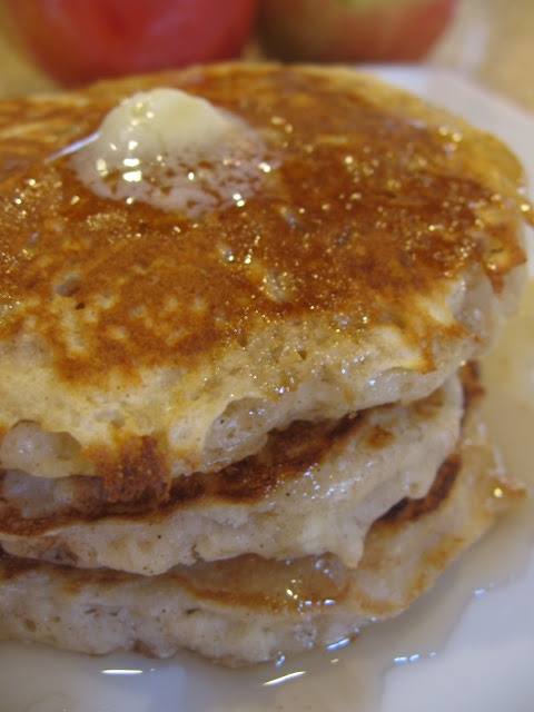 Simple Apple Pancakes | RECIPES: BRUNCH | Pinterest
