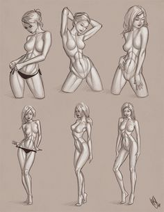 1000+ ideas about Drawing Female Body on Pinterest   Anime ...