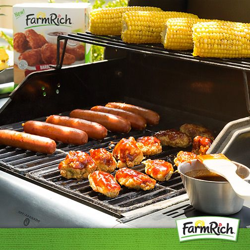 You have your hot dogs, hamburgers and veggies ready, right? Don't forget that #FarmRich Bone-In Chicken Wings are grillable for a tasty addition to your  #4thofJuly cookout! (Directions: Grill frozen wings on low for 8 minutes, turn wings over and grill an additional 8 minutes or to 165°F internal temperature.)