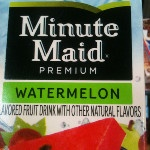 zoekillem : minute maid has new watermelon juice 0_o we gettin this ...