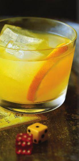 Escape from Alcatraz: fresh ginger, orange slices, lemon juice ...