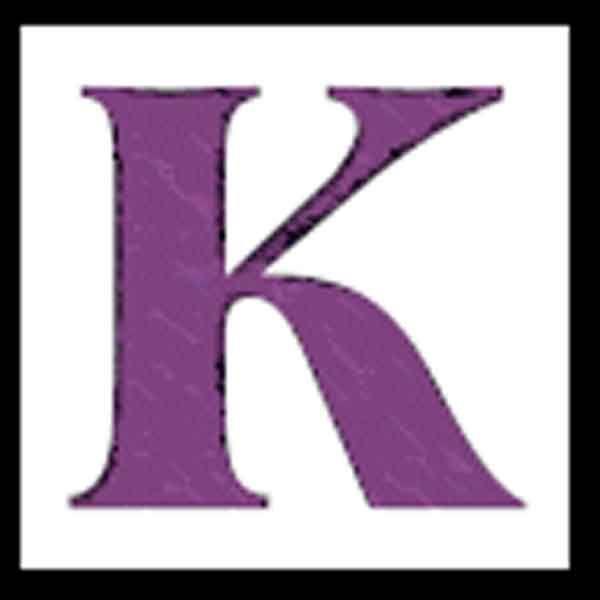 Letter S Purple