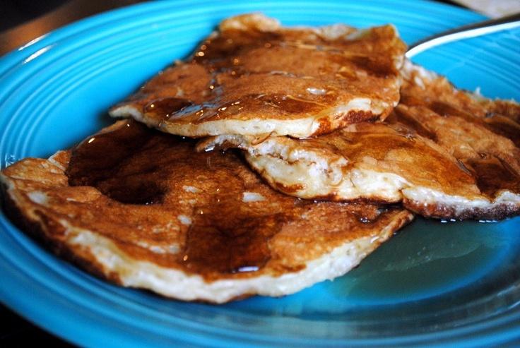 Tropical Chobani pancakes