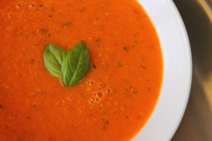 Tomato Basil Soup | A Soup for my bones... | Pinterest