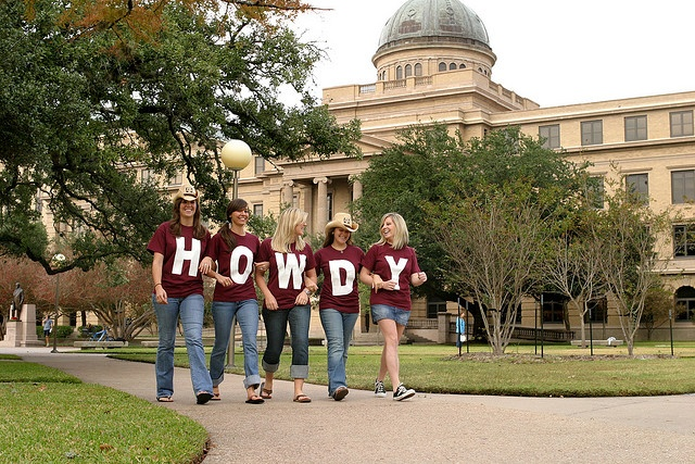 Howdy! is the official greeting here in Aggieland.