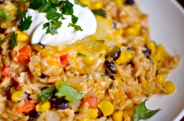 Sizzling Chipotle Chicken and Rice