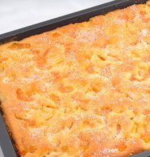 Glazed Peach Bars | Recipe