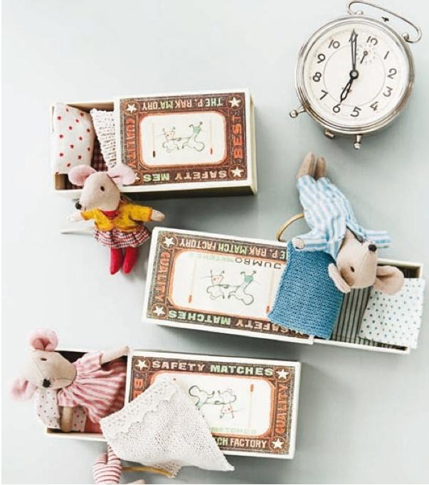 matchbox mice...