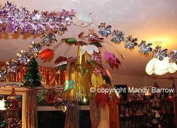 Christams ceiling decorations christmas ideas pinterest for Christmas ceiling decorations