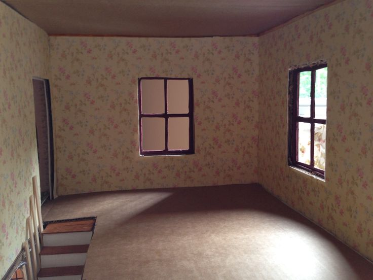 dolls house wallpaper bedroom - photo #38