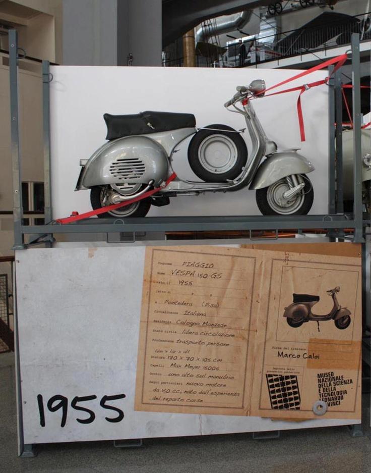 La storia di Vespa in mostra al Museo Nazionale della Scienza e della Tecnologia Leonardo da Vinci di Milano