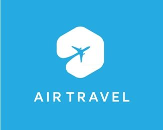 Air Travel Logo design – logo for travel, tourist agency, and related industries