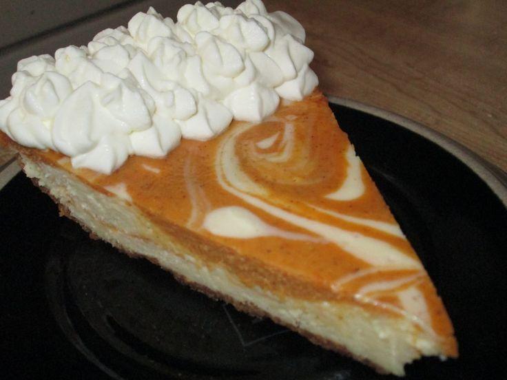 Pumpkin Swirl Cheesecake | Dessert??? Yes, Please!!! | Pinterest