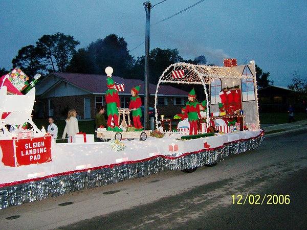 Santa's Workshop Christmas Float
