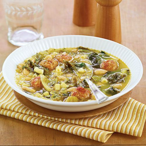 Escarole & Bean Soup with Sausage - Wegmans ... will switch some ...