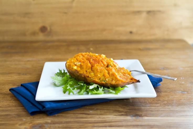 Naturally Ella | Stuffed Curry Sweet Potato | Page: 1 | Naturally Ella