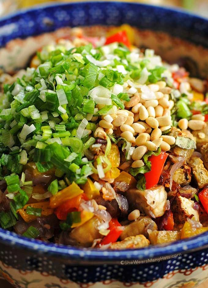 Roasted Vegetable Orzo Salad | Recipe