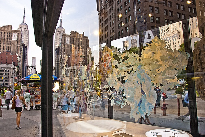 NYC- Rebecca Riley's Randomland at Prow Art Space in the Flatiron Building