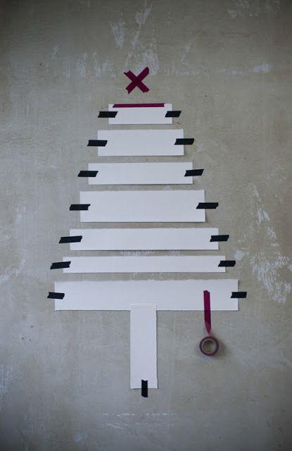xmas tree diy simple
