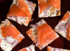 Lox Flatbread | Soup, Sandwiches, & Roll-ups | Pinterest