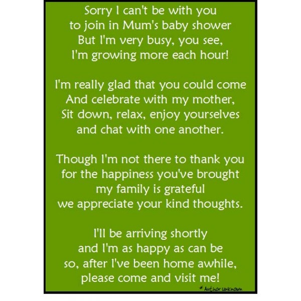 baby shower thank you note 2 mummysmojo baby shower pinterest