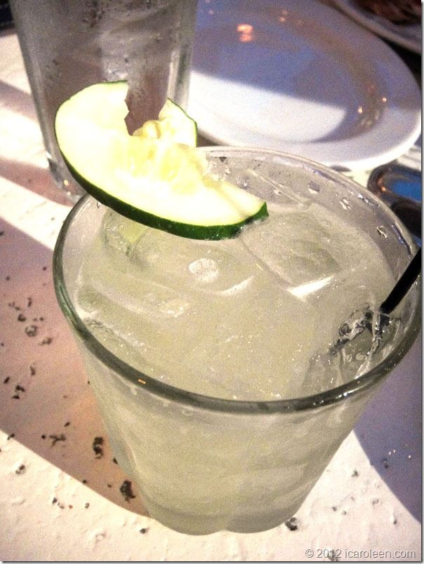 Cucumber basil gimlet - DELICIOUS! | food and drink | Pinterest