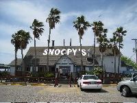 Snoopy's, Padre Island, TX.  Yummy seafood!